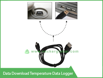 Data download Temperature Data Logger VackerGlobal