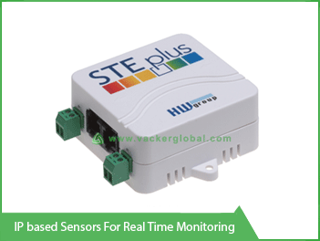 IP Based Sensors for real time monitoring vacker global