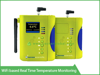 Wifi based real time temperature monitoring VackerGlobal